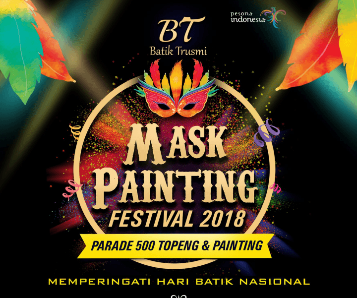The Mask Painting Festival, Harumkan Batik ke Internasional