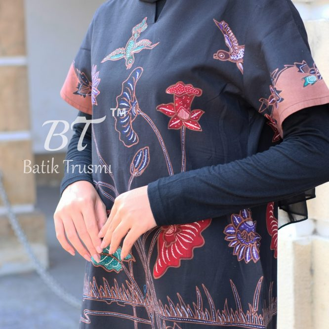 BATIK TRUSMI DRESS BATIK WANITA TULIS D ART